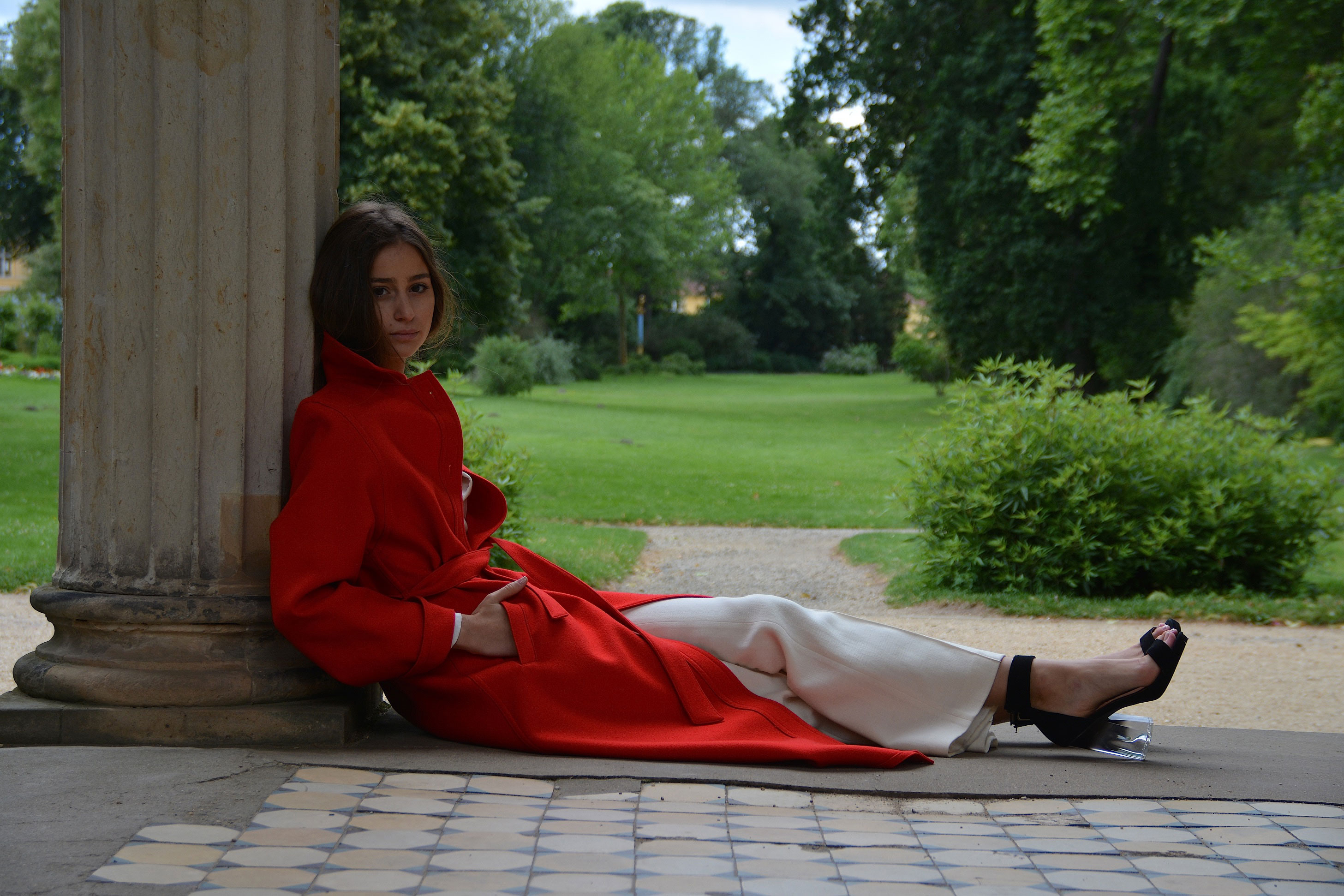 Park Sanssouci,Potsdam  model_romy nest  photo_karl von der ahé