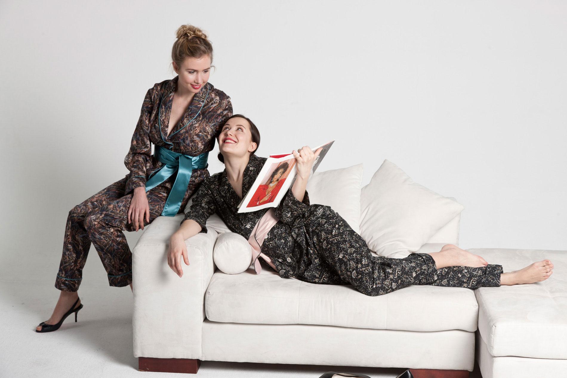Pyjama Montauk & Pyjama Berlin  model_romy adler, arijana rubin  photo_chris böhm