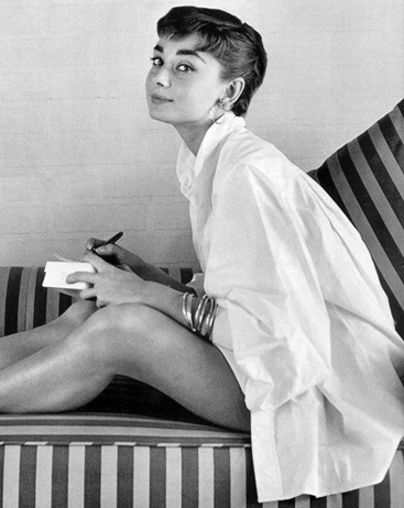 © audrey hepburn courtesy of stilblog