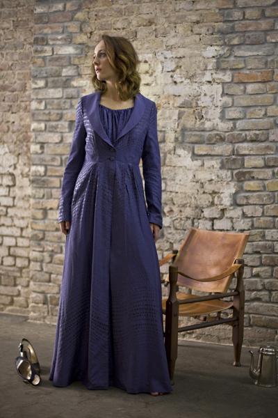 -Peignoir Chambre violett-Frontbild